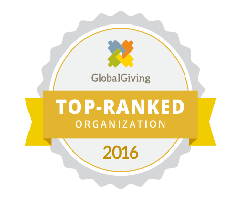 We are a top ranked Global Giving organisation
