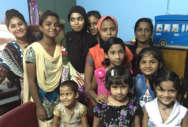 Educate Destitute Girls in Kolkata, India.